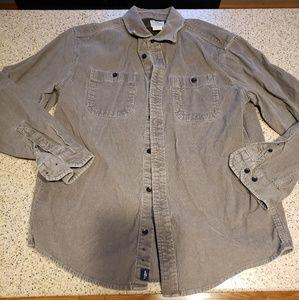 L.L. Bean SZ M Corduroy Field Shirt Jacket